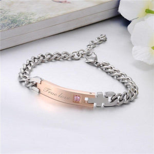her king his queen bracelets - Gifts For Family Online