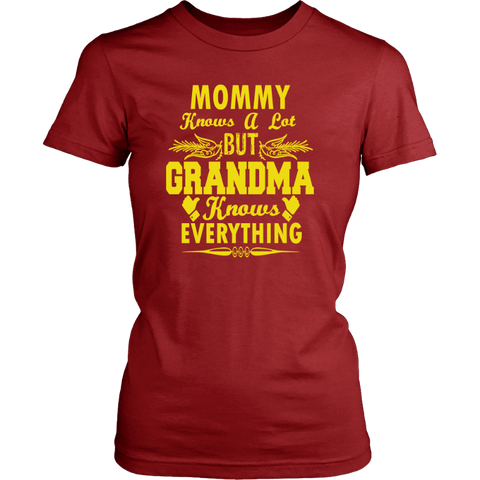 Image of Grandma T-Shirt - Gifts For Family Online