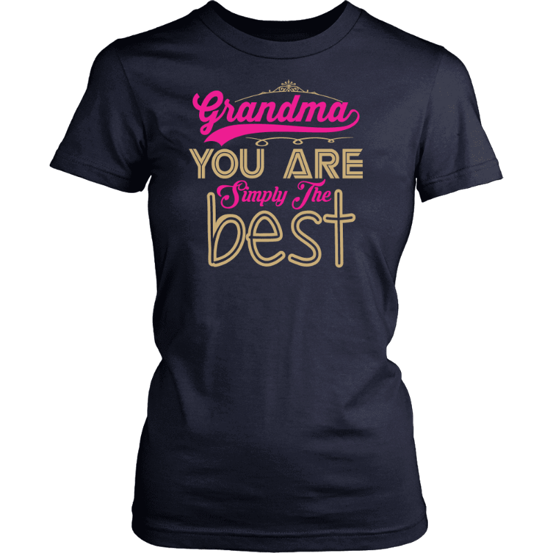 T-Shirt Grandma Is Simply The Best - Deal Of The Day