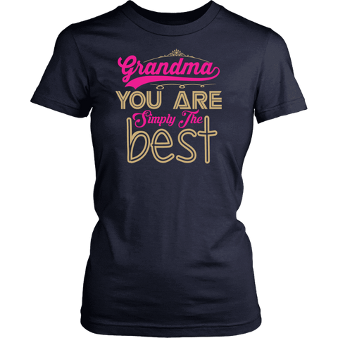 Image of T-Shirt Grandma Is Simply The Best - Deal Of The Day