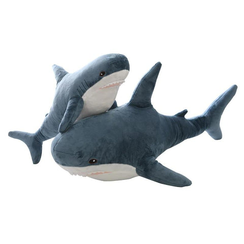 "Image of Giant Shark Plush Stuffed Toys 31""-39"" Gifts For Family & Friends"