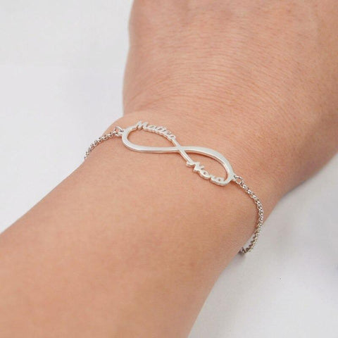 Image of bracelets with names - Gifts For Family Online