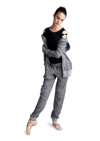 BLOCH MUSETTE ZIP FRONT LONG LINE JACKET - First Class Dancewear NQ