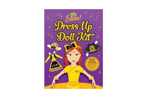 THE WIGGLES: EMMA! DANCE AROUND THE WORLD DRESS UP DOLL KIT
