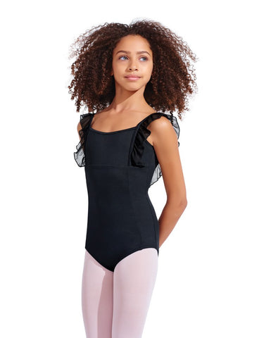ANASTASIA RUFFLE TANK LEOTARD - First Class Dancewear NQ