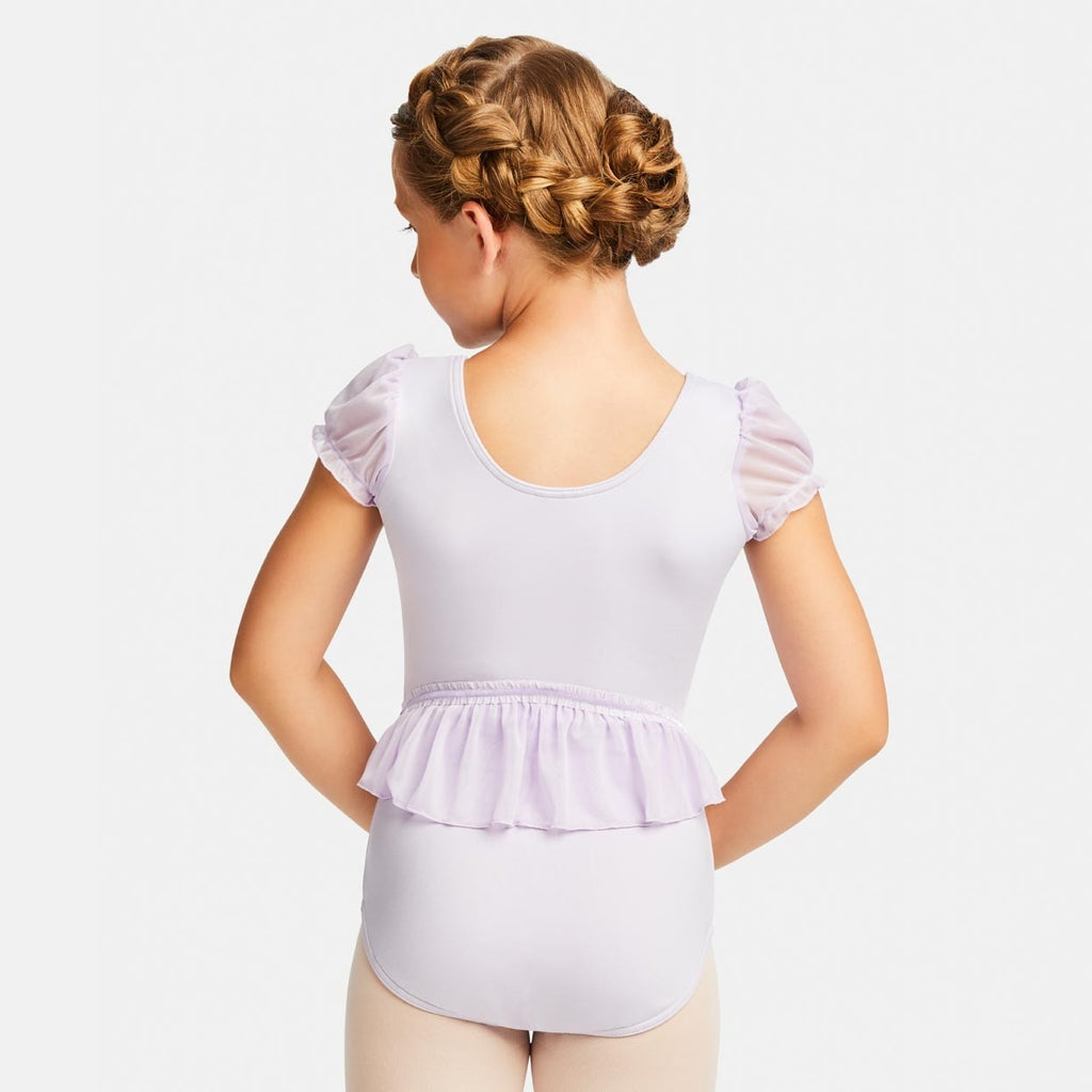 CONFECTION RUFFLE BACK LEOTARD