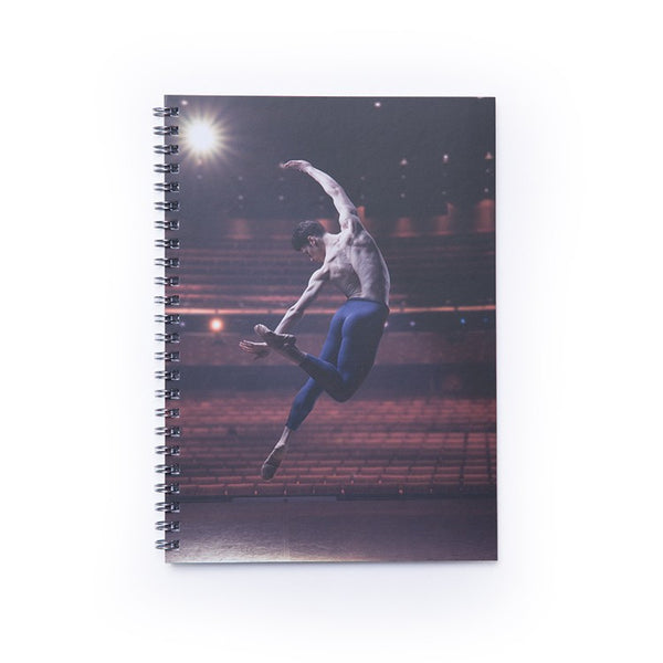 Copy of BLOCH QB ON STAGE SPIRAL NOTEBOOK