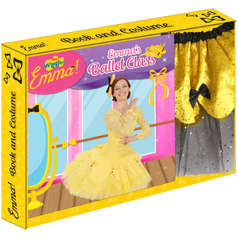 THE WIGGLES EMMA! BOOK AND EMMA COSTUME