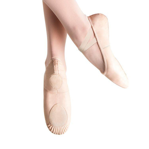 BLOCH PROLITE II LEATHER SPLIT SOLE BALLET SHOE (ADULTS)