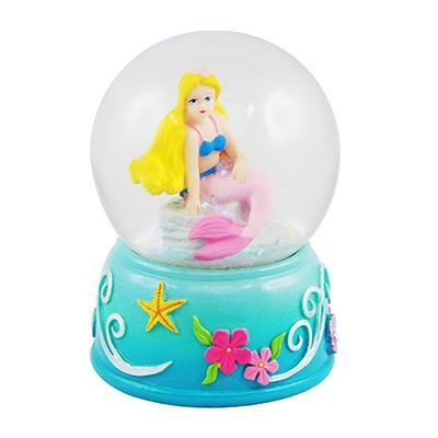 MINI MERMAID SNOW GLOBE