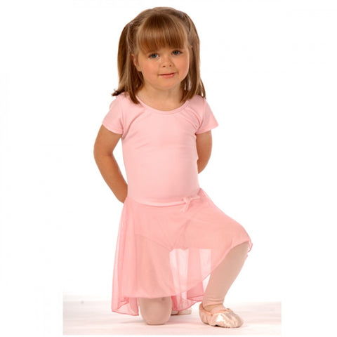 SHORT SLEEVE NYLON DRESS - First Class Dancewear NQ