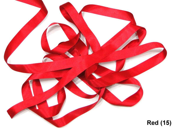RIBBON POLY SATIN DOUBLE SIDED 25MM