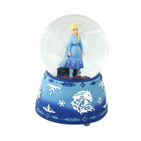 FROZEN 2 ELSA MUSICAL SNOW GLOBE