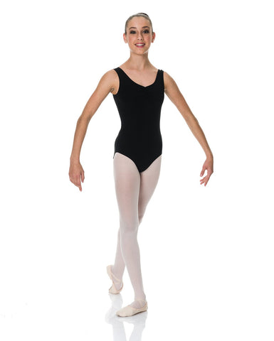 S7 COTTON THICK STRAP LEOTARD