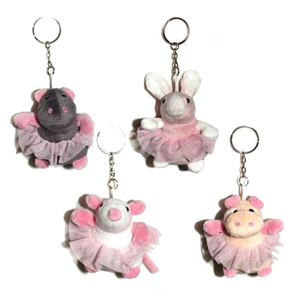 BALLERINA BUDDIES KEYRINGS