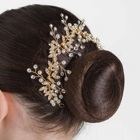 BLOOMING SPARKLE HAIRPIECE