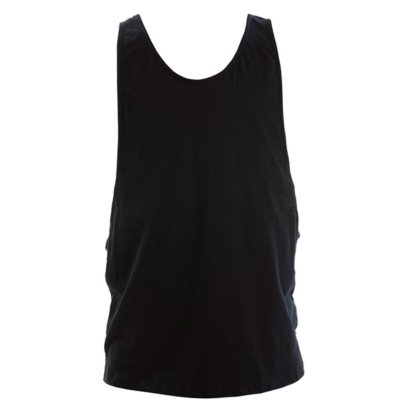 MENS CUT AWAY SINGLET (CHILDS)