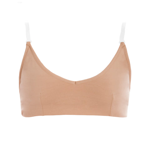 CLEAR BACK BRA (CHILDS)