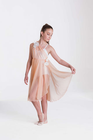 GRECIAN LYRICAL DRESS (ADULTS)
