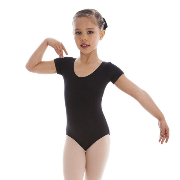EN SHORT SLEEVE LEOTARD
