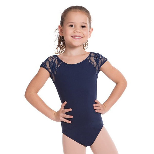 MILA LACE LEOTARD (CHILDS)