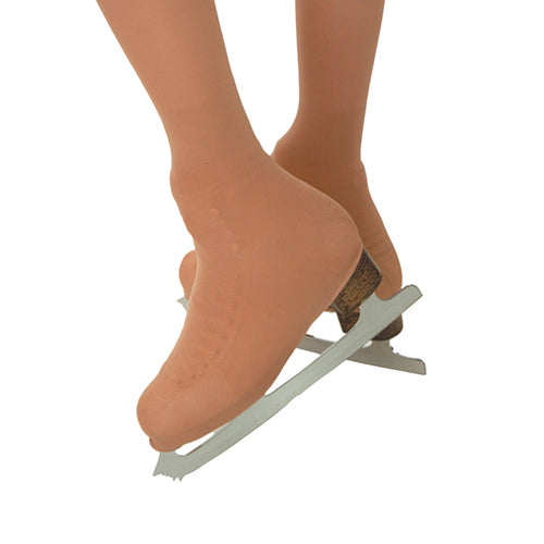 MICROFIBER SKATING OVER-THE-BOOT TIGHTS CHILDREN