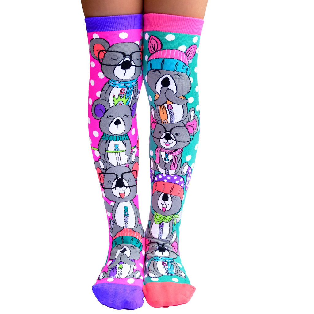 MADMIA KOALA KNEE HIGH SOCKS