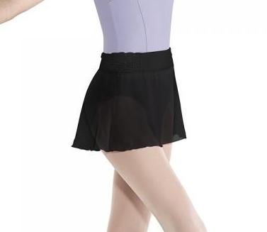BLOCH CRINKLE MESH SKIRT - First Class Dancewear NQ