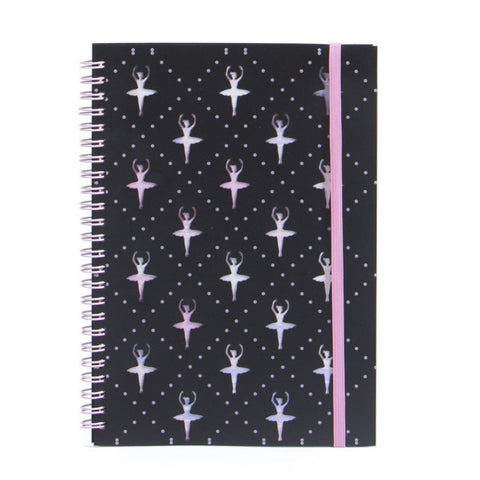 BALLERINA NOTEBOOK - First Class Dancewear NQ