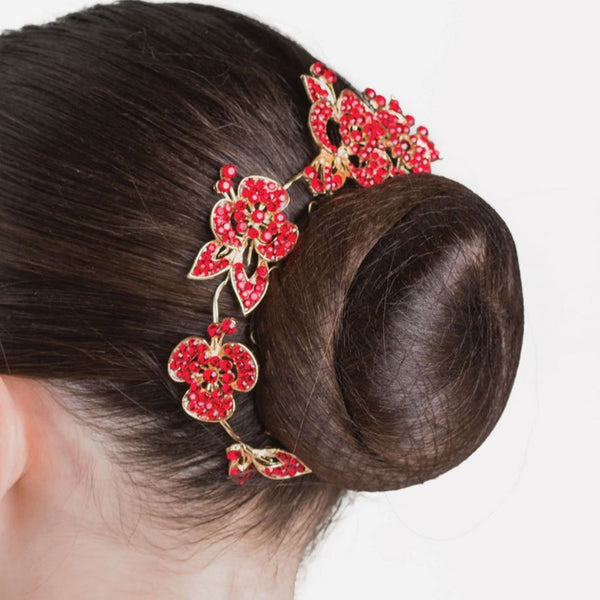 RUBY SPARKLE HAIRPIECE