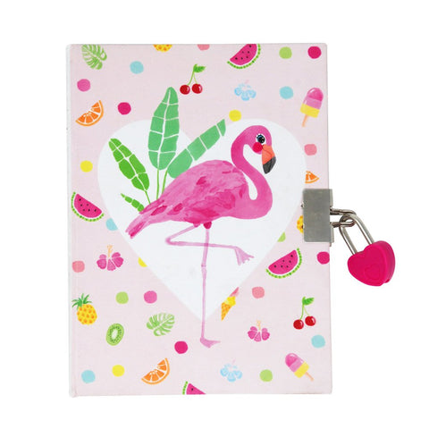 FABULOUS FLAMINGO GRAPE SCENTED DIARY