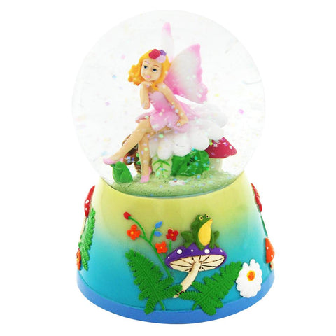 FOREST FAIRY MUSICAL SNOWGLOBE