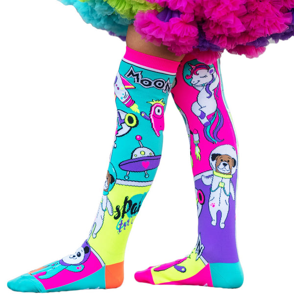 MADMIA SPACE TRAVEL KNEE HIGH SOCKS