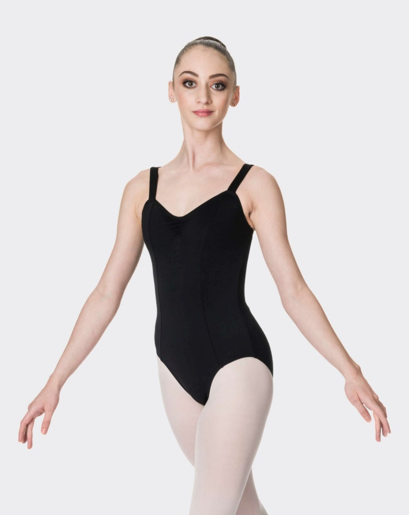 WIDE STRAP LEOTARD (ADULTS)