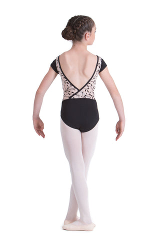 LUCINDA CAP SLEEVE LEOTARD (CHILDS)