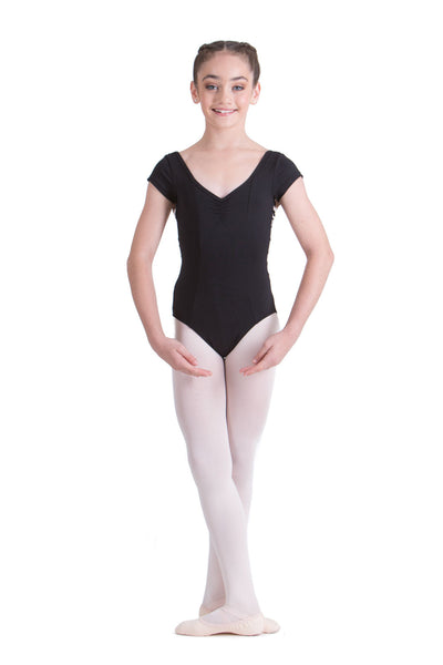 LUCINDA CAP SLEEVE LEOTARD