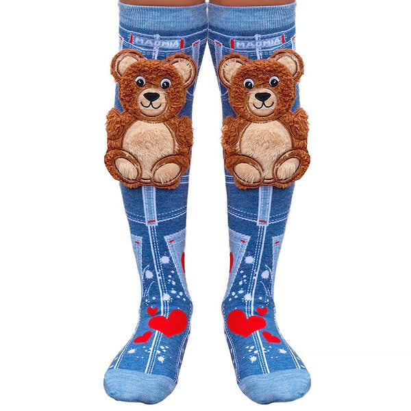 MADMIA TEDDY BEAR KNEE HIGH SOCKS