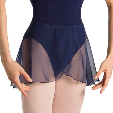 BLOCH CHANTAL SHORT TULIP WRAP SKIRT - First Class Dancewear NQ