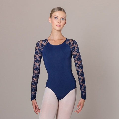 HAILEY LACE LEOTARD