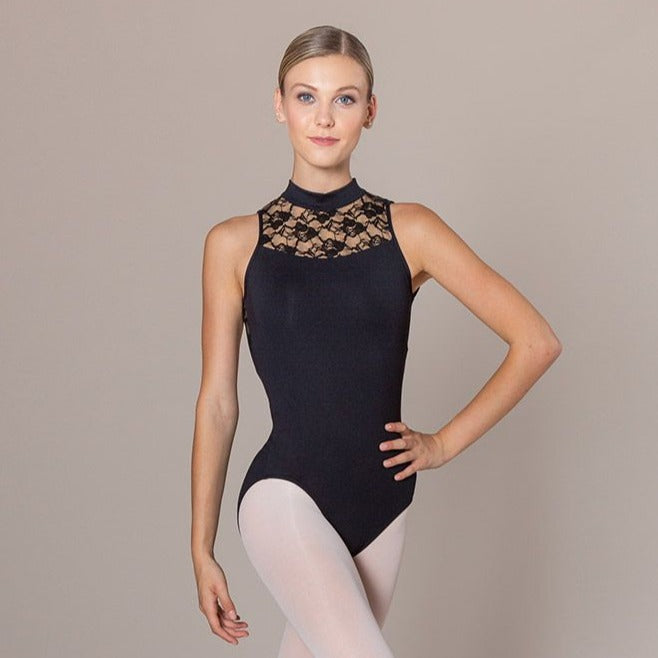 SCARLETT LACE LEOTARD (ADULTS)