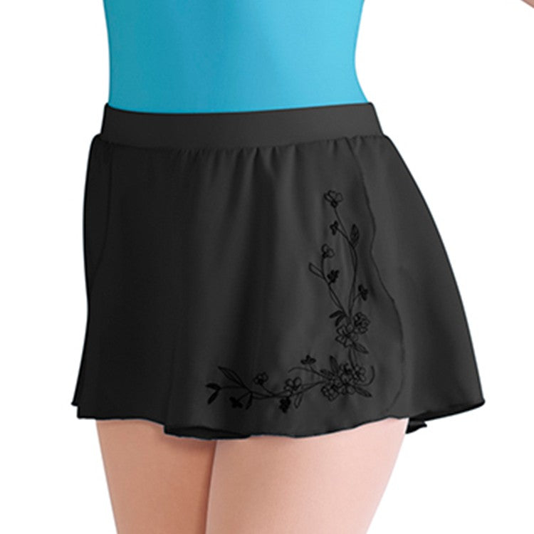 BLOCH MIRELLA BLOSSOM MOCK WRAP SKIRT - First Class Dancewear NQ