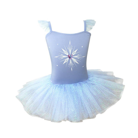 FROZEN 2 ELEMENTS TUTU DRESS
