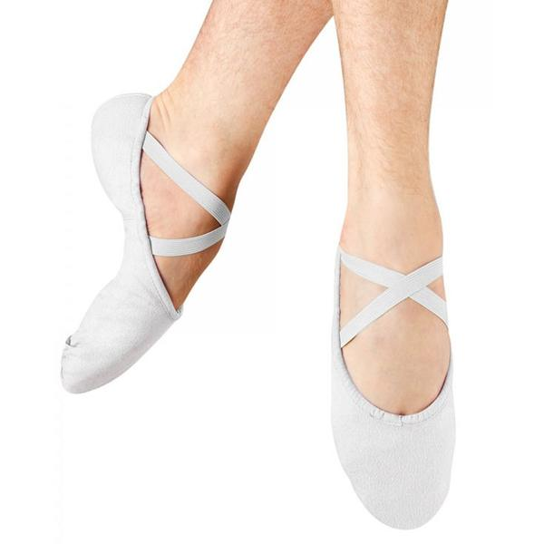 BLOCH PUMP CANVAS SPLIT SOLE BALLET SHOE