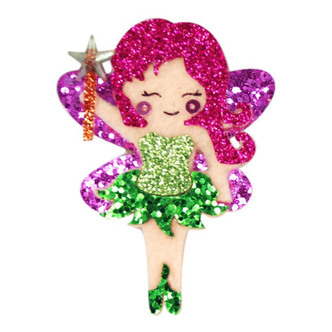GLITTER FAIRY HAIRCLIPS