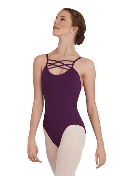 BACK IN FRONT CAMISOLE LEOTARD - First Class Dancewear NQ