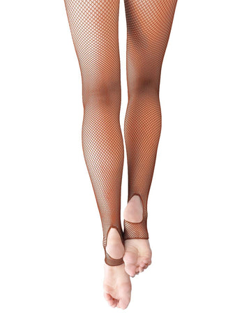 PROFESSIONAL FISHNET TIGHT - STIRRUP - First Class Dancewear NQ