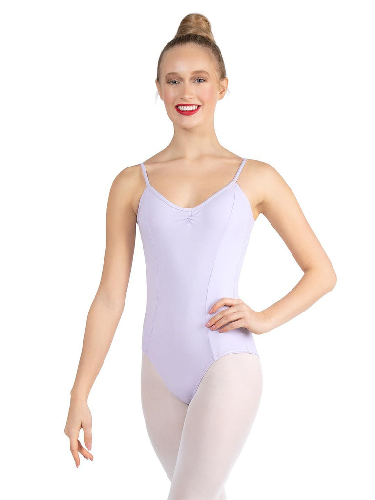 V NECK CAMISOLE LEOTARD (ADULTS)