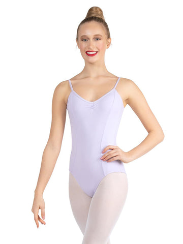 V NECK CAMISOLE LEOTARD
