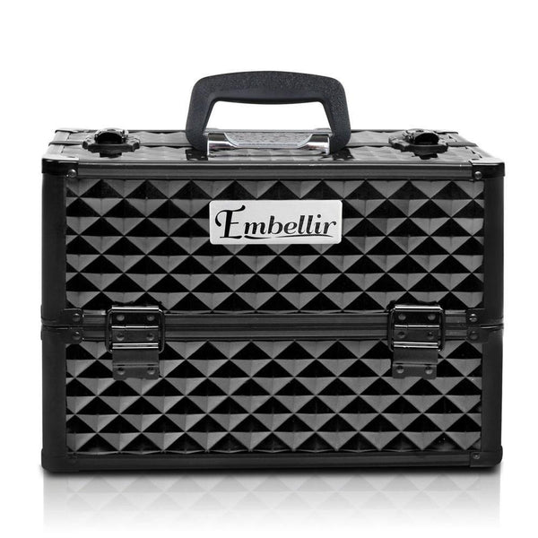 PORTABLE COSMETIC BEAUTY MAKEUP CARRY CASE