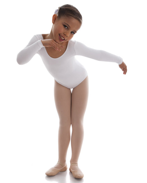 JESSE LONG SLEEVE LEOTARD (CHILDS)